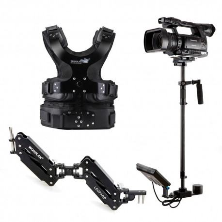 گیمبال wondlan-double-arm-steadycam-leopard-stabilizer-le304