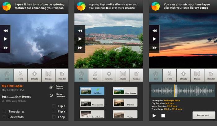 نرم افزار ساخت تایملپس برای اینستاگرام