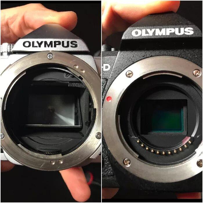 دوربین بدون آینه
