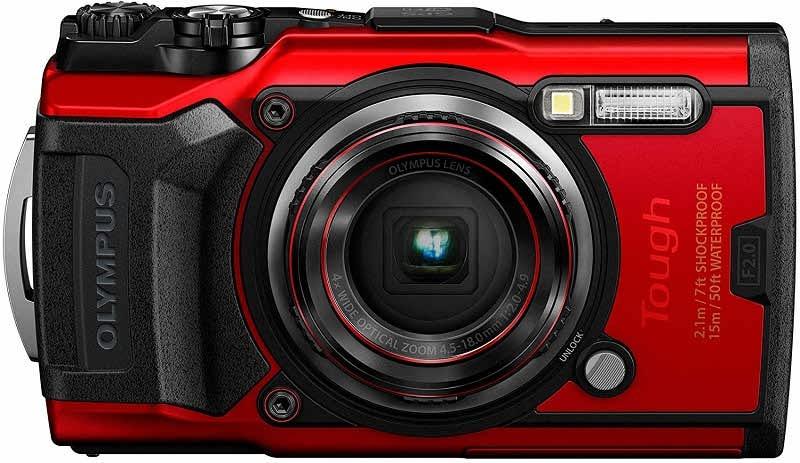 بهترین دوربین های کامپکت - الیمپوس تاف تی جی 6