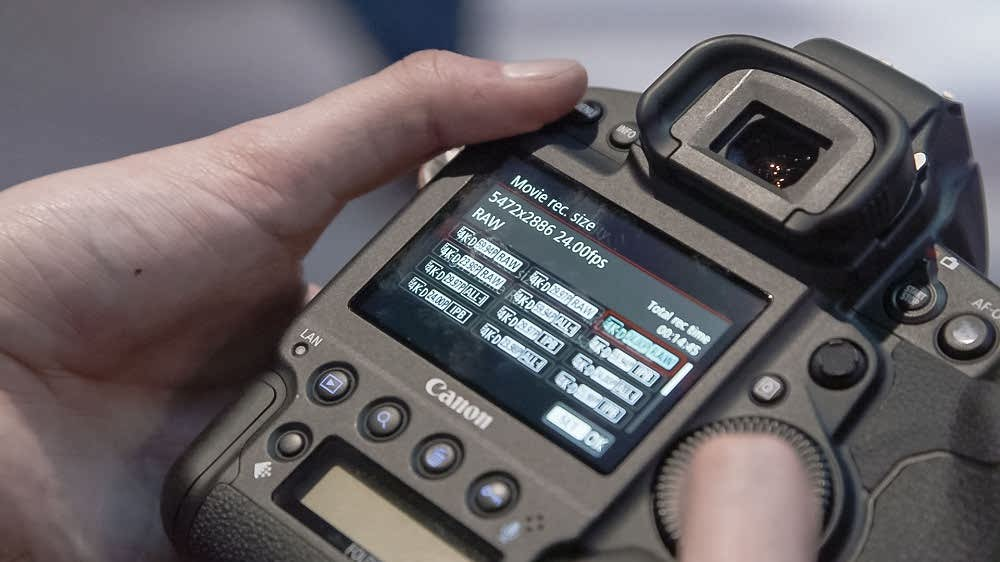 دوربین کانن 1 دی ایکس ام III