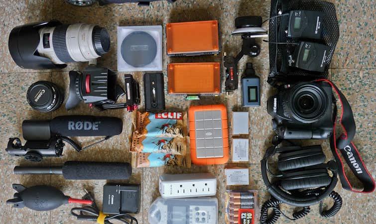 نگهداری از تجهیزات دوربین