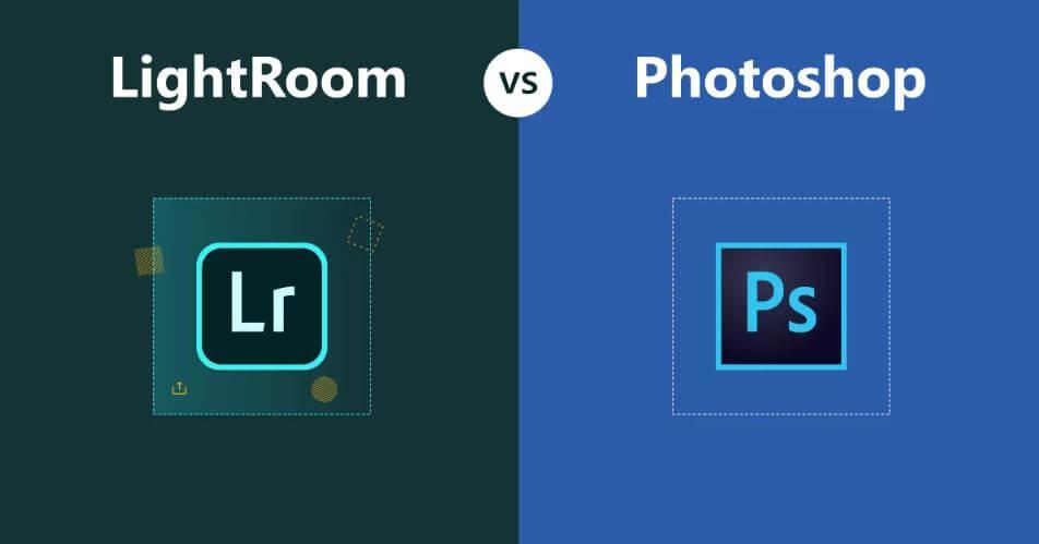 مقایسه فتوشاپ و لایت روم
