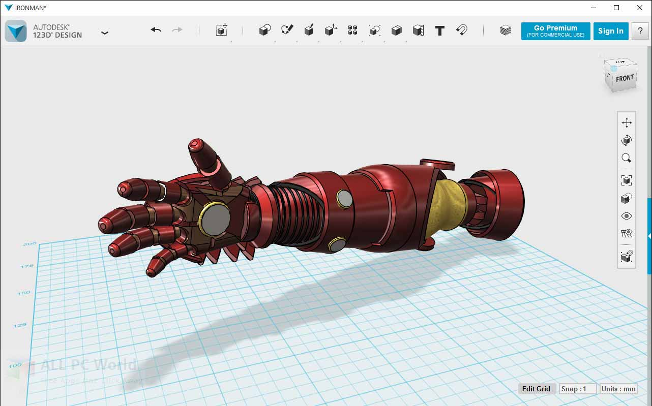 Best 3D design softwares- autodesk