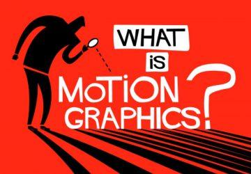 تفاوت موشن گرافیک و انیمیشن