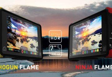 معرفی مانیتور های قابل حمل Ninja Flame و Shogun Flame
