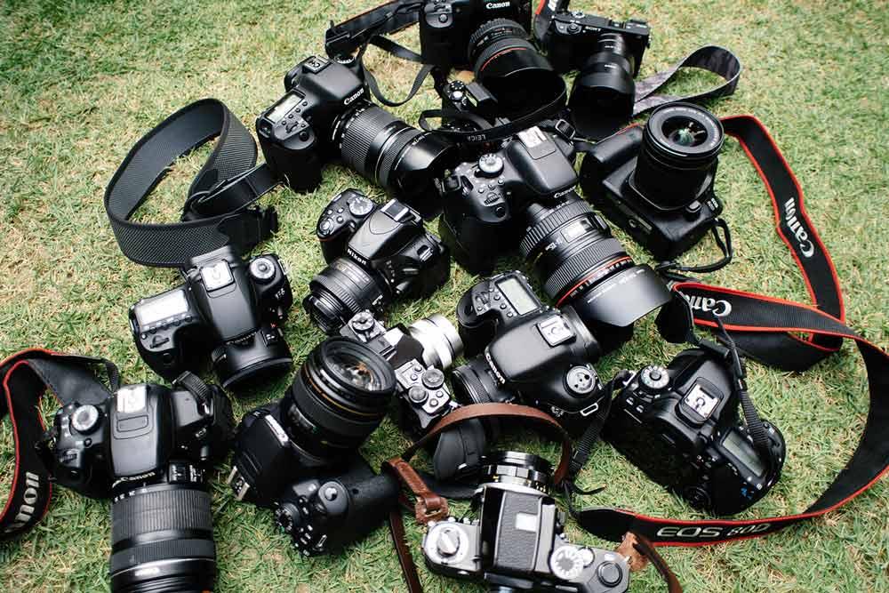 camera teaser making